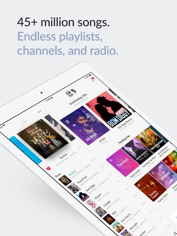 JioSaavn (formerly JioMusic) Screenshots