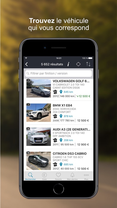 download La Centrale - voiture occasion apps 3