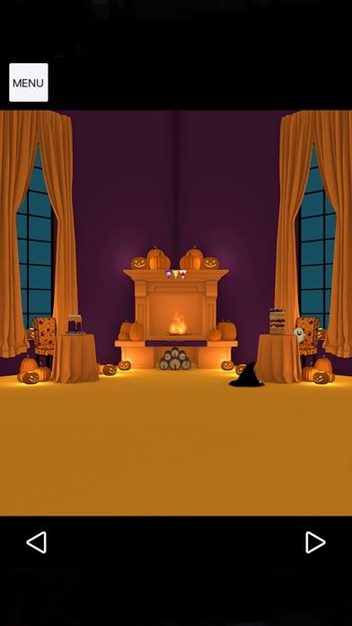 Halloween おばけとかぼちゃと魔女の家