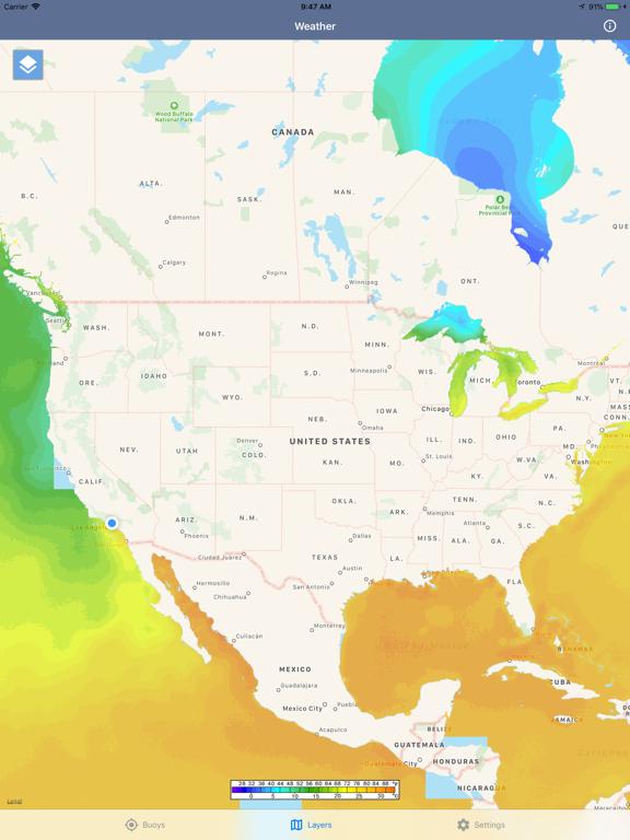 Ocean Water Temperature screenshot 11