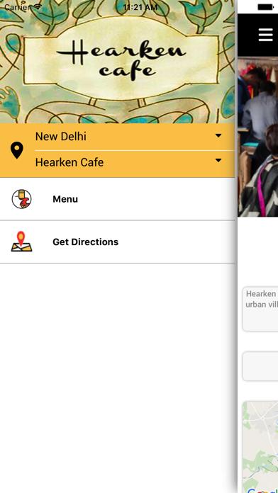 Hearken Cafe screenshot three