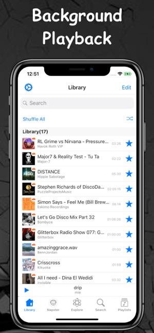 Audify FM - Music Mp3 Screenshot