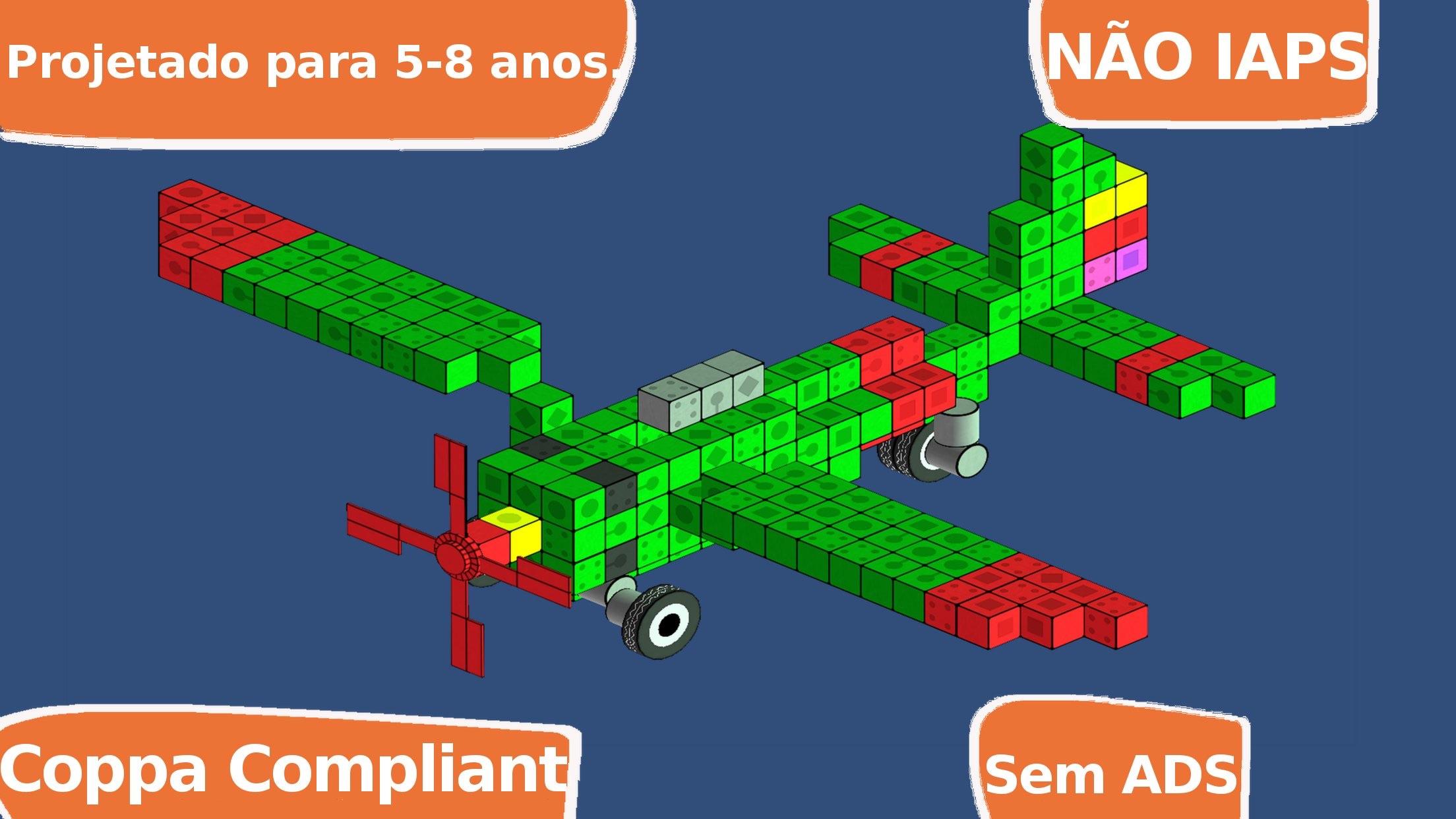 Screenshot do app Blox 3D