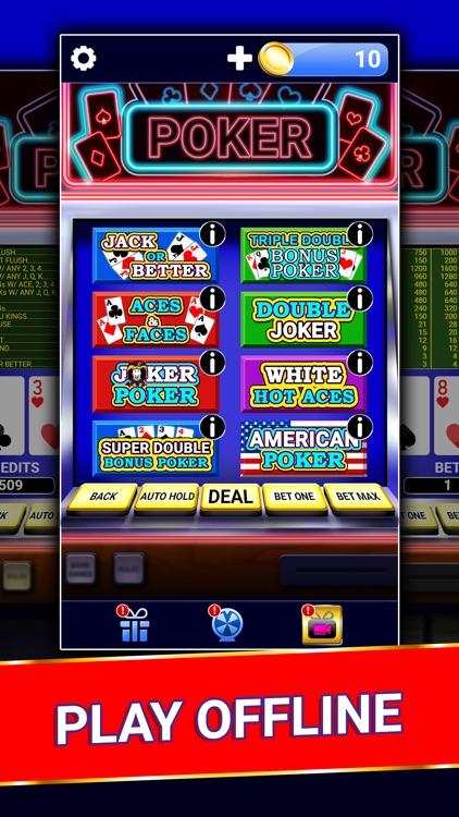 Video Poker : Casino Card Game