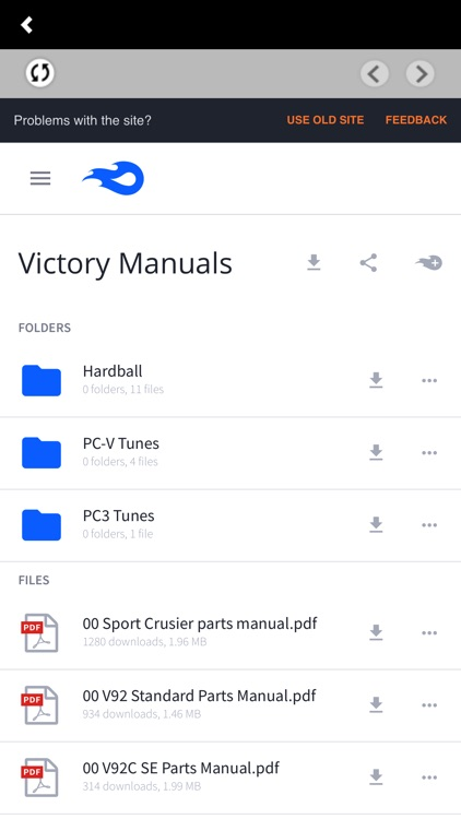 Victory OEM Parts Stream