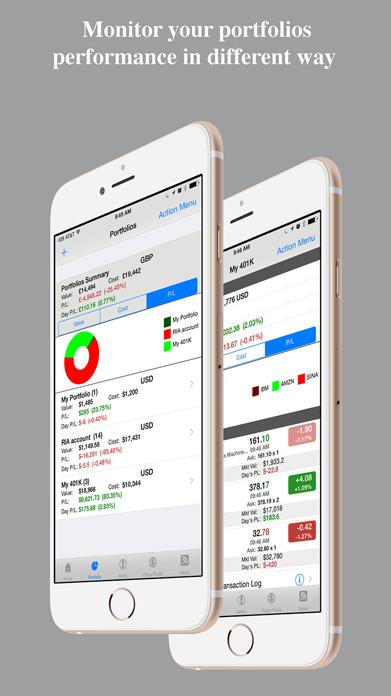 Stocks Tracker:Real-time stock Screenshot
