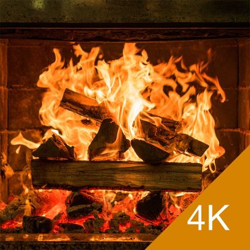 Fireplace 4K - Ultra HD Video