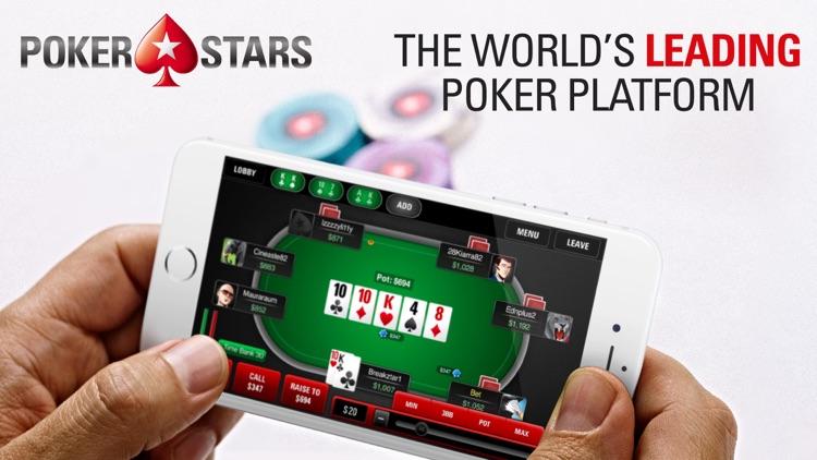 PokerStars- Online Poker Games screenshot-0