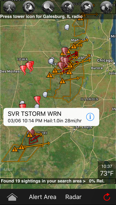 Tornadospy review screenshots