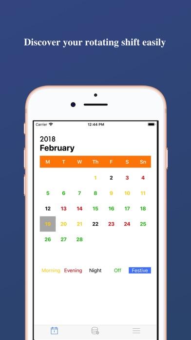 Work-Calendar screenshot one