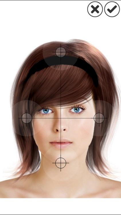 Hairstyle Magic Mirror Lite screenshot-4