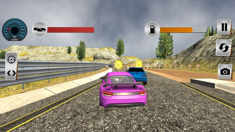 Real City Highway Car Racing screenshot-4