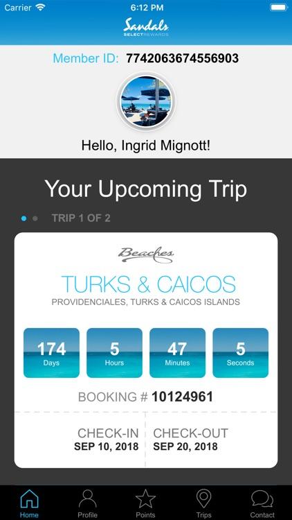 Sandals & Beaches Resorts screenshot-0