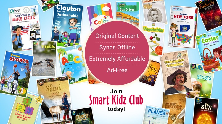 Smart Kidz Club: eBooks & Math screenshot-4