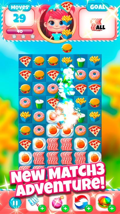 Burger Match 3 screenshot-0