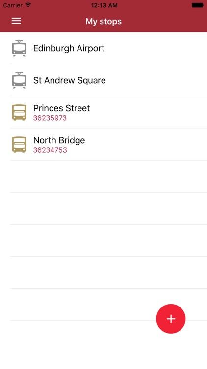 Edinburgh Bus Times screenshot-3