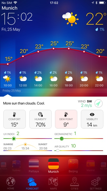 WEATHER NOW ° - radar & widget screenshot-4