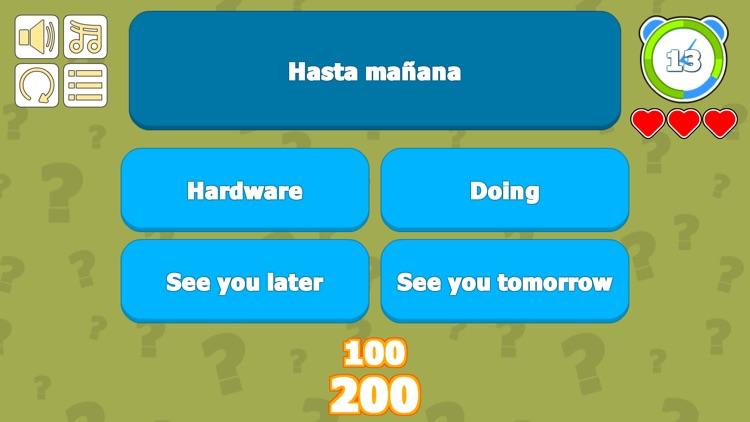 Spanish Vocabulary Success screenshot-3
