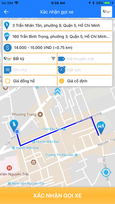 Taxi Đà Nẵng screenshot four