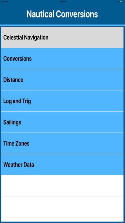Marine Navigation Calculators