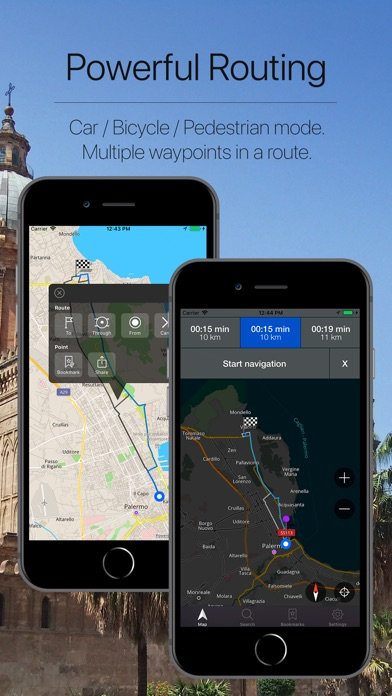 Screenshot for Sicily, Italy Navigation in Chile App Store