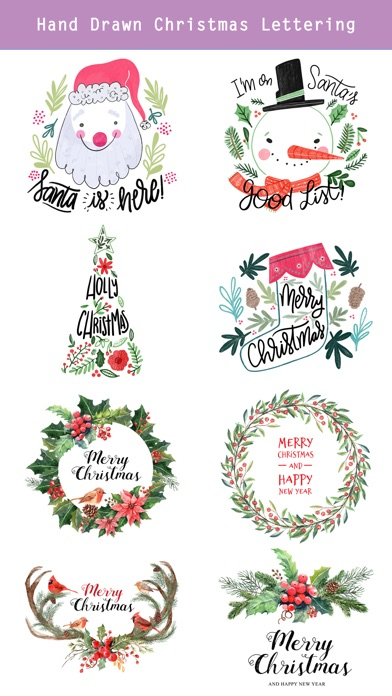 Fairytale Christmas Stickers screenshot 4