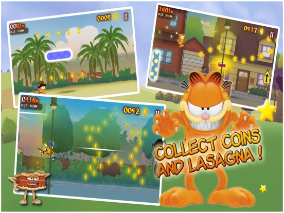 Garfield's Wild Ride Screenshots