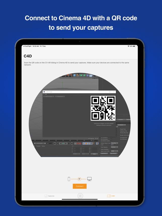 CV-AR on the App Store