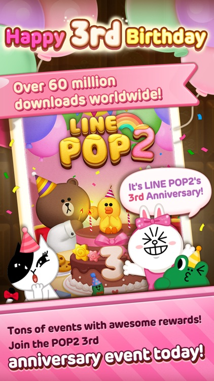 LINE POP2 screenshot-0