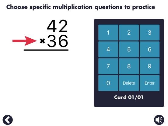Screenshot #5 for MathEdge Multiplication