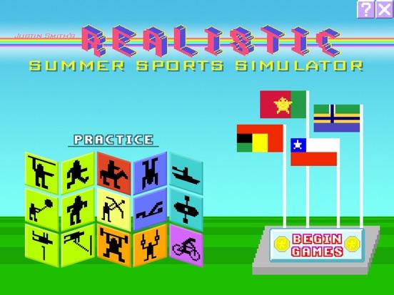 Realistic Summer Sports на iPad