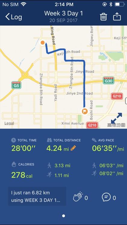 Couch to 5K® - Run training screenshot-4