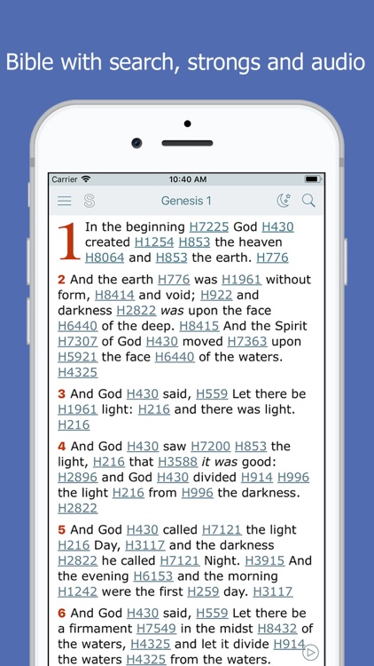 Bible and Strong's Concordance screenshot-3