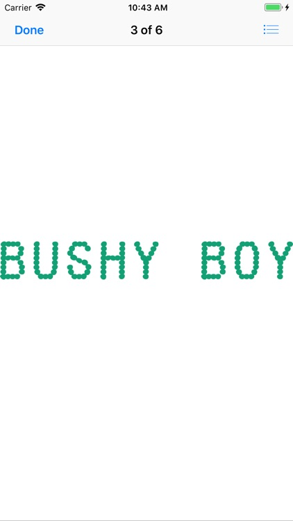 Bushy Boy Gaming Phrases screenshot-5