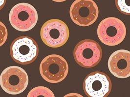 Delicious Donut Stickers