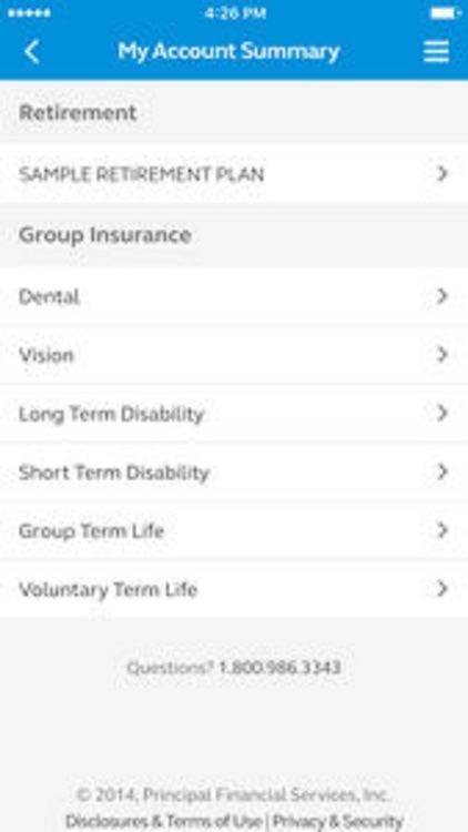 Principal® Mobile screenshot-3