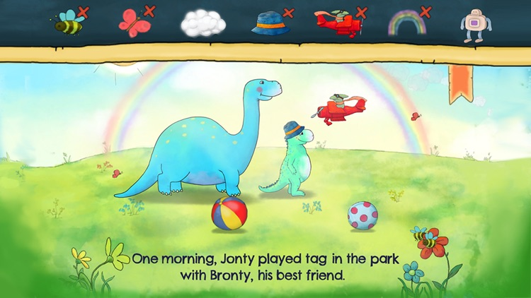 Jonty The Dinosaur's Bedtime screenshot-4
