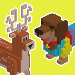 Color 3d Animals by Number