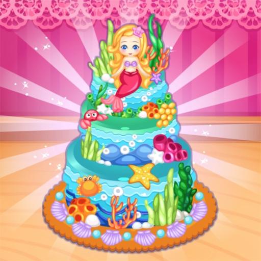 海洋蛋糕制作-做蛋糕的游戏
