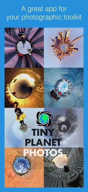 Tiny Planet Photos and Video Screenshot
