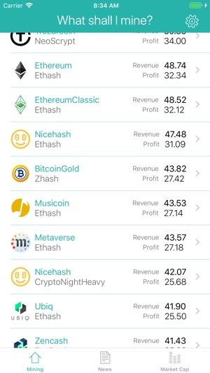 Profimine What To Mine On The App Store Ethereum mining in a pool is the easiest and fastest way to get started. profimine what to mine on the app store