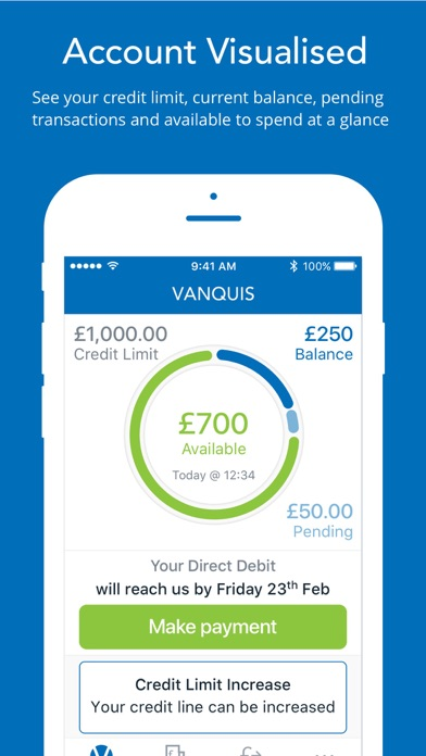 Vanquis by vanquis bank limited ios united kingdom searchman screenshots reheart Image collections