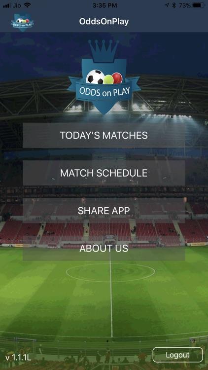 Odds On Play screenshot-4