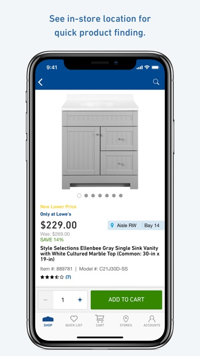 Lowe's Home Improvement for Windows