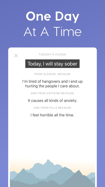I Am Sober - Sobriety Counter