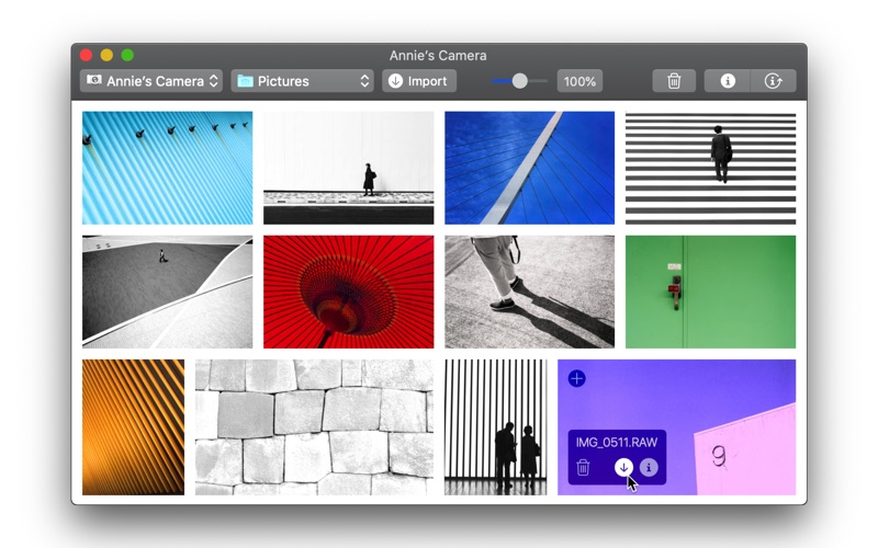 Full Frame — Browse & Import Your Photos for Mac