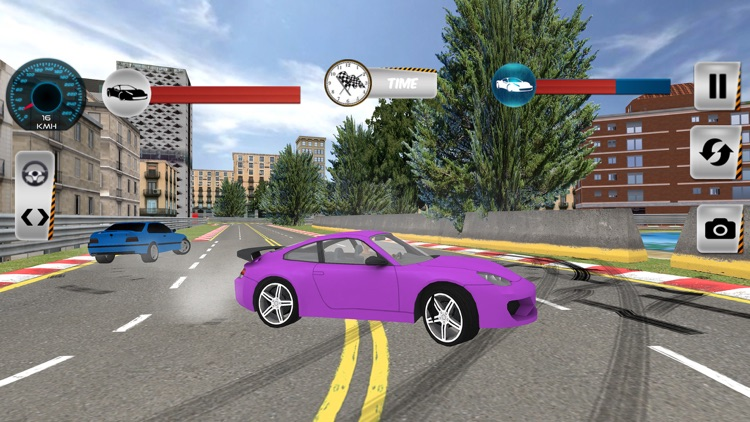 Real City Highway Car Racing screenshot-3