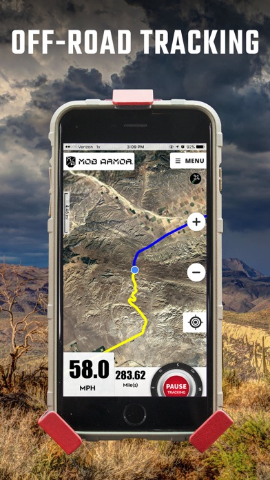 Screenshot for Mob Armor GPS in United States App Store