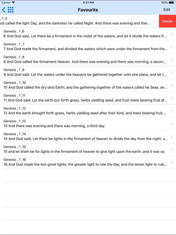 Holy Bible ASV Offline HD screenshot-5