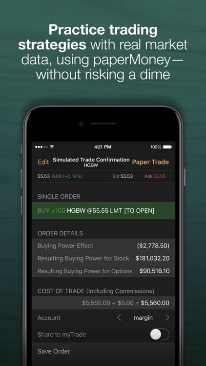 thinkorswim Mobile screenshot-3